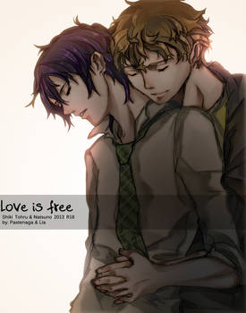 [Doujin. Tohru x Natsuno] Love is free.