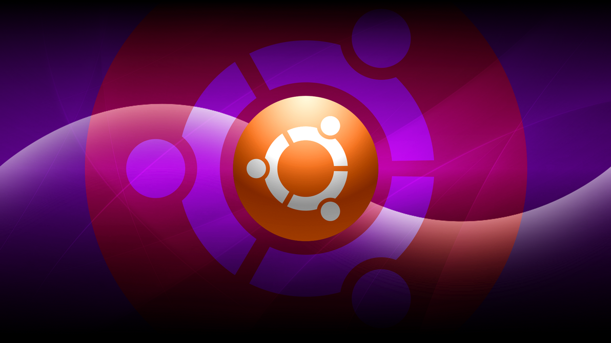 New Ubuntu Dark Wallpaper Set by technokoopa