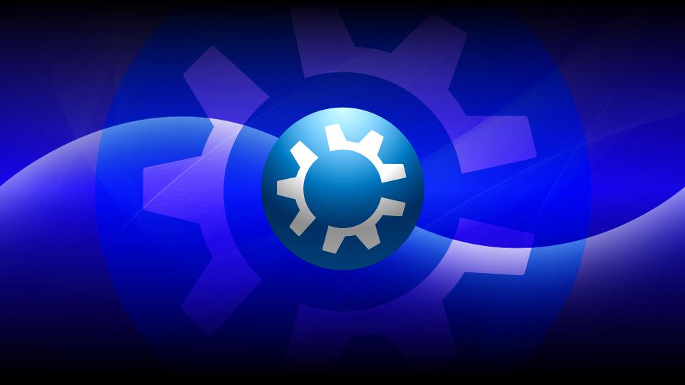 New Kubuntu Dark Wallpapers by technokoopa