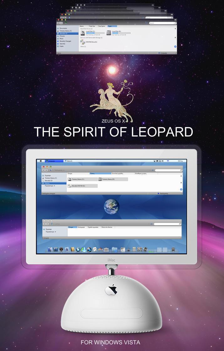 ZEUS OS X  : SPIRIT OF LEOPARD by ZEUSosX