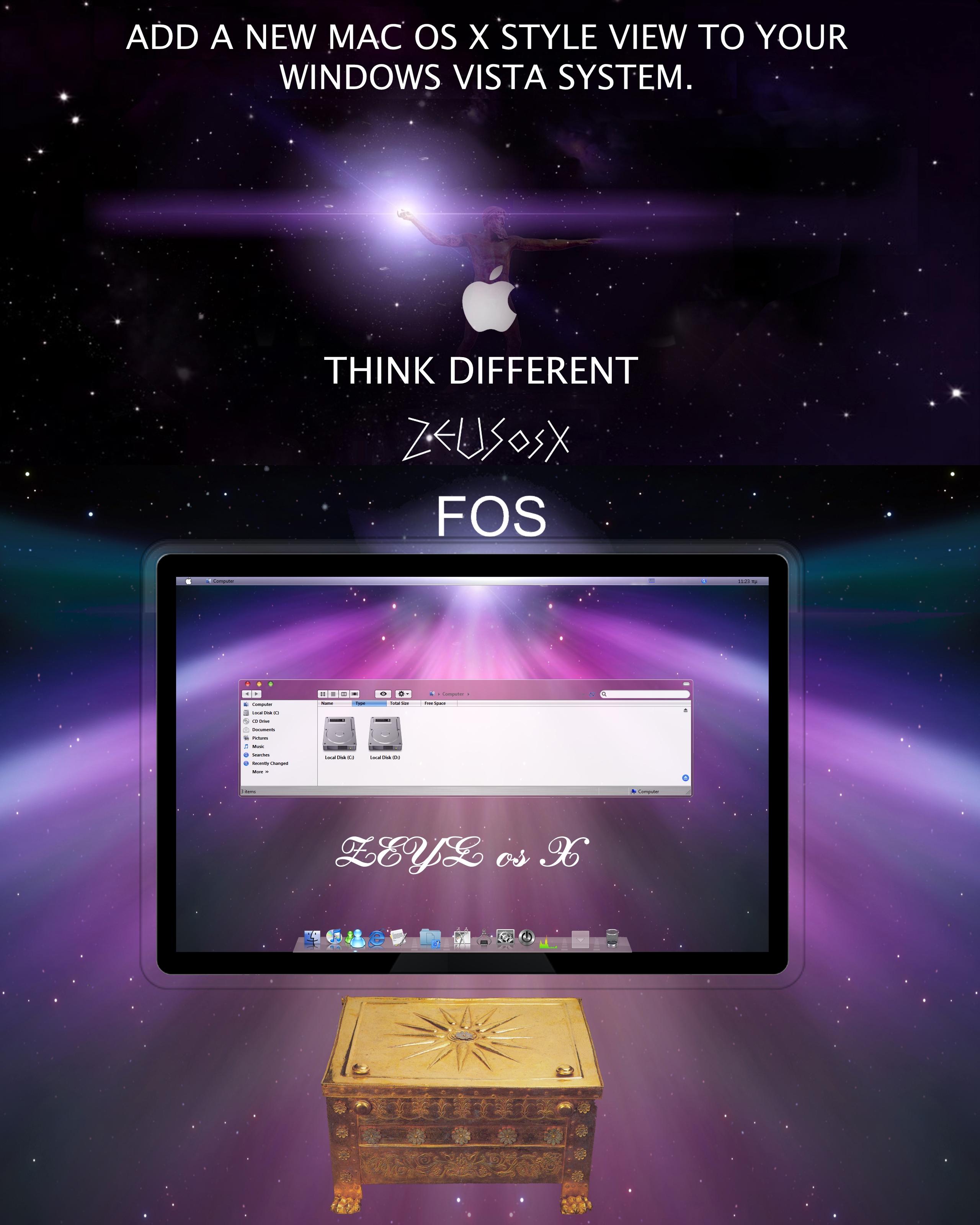 ZEUS os X    F OS    for vista