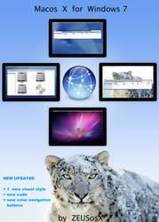Macos X for Windows 7 - 64bit by ZEUSosX