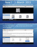 Top Preview Pane, in windows 7
