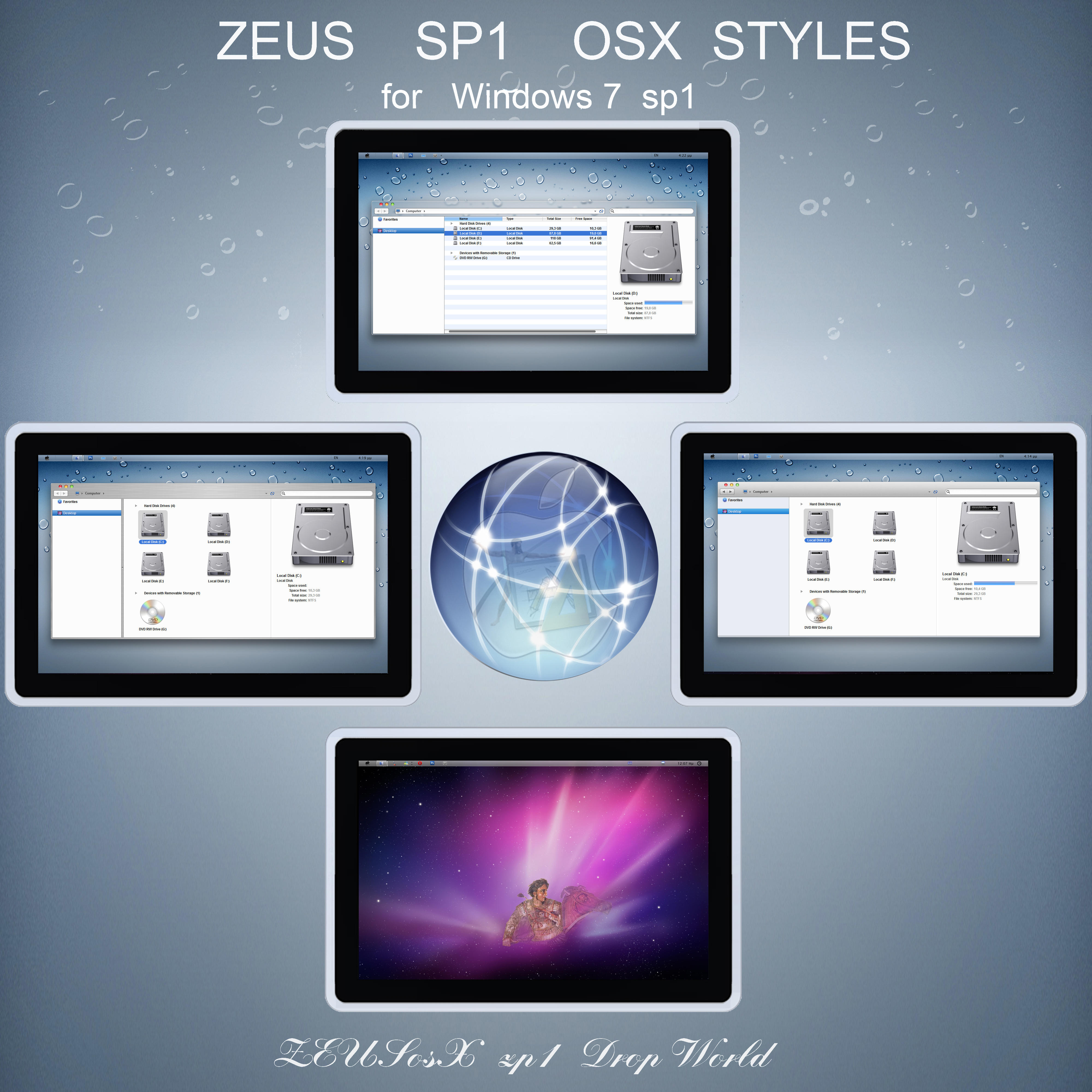 sp1 ZEUS osX  for Win 7  32bit by ZEUSosX