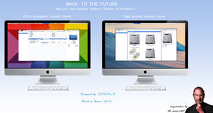 Macos X style theme for Windows 8.1