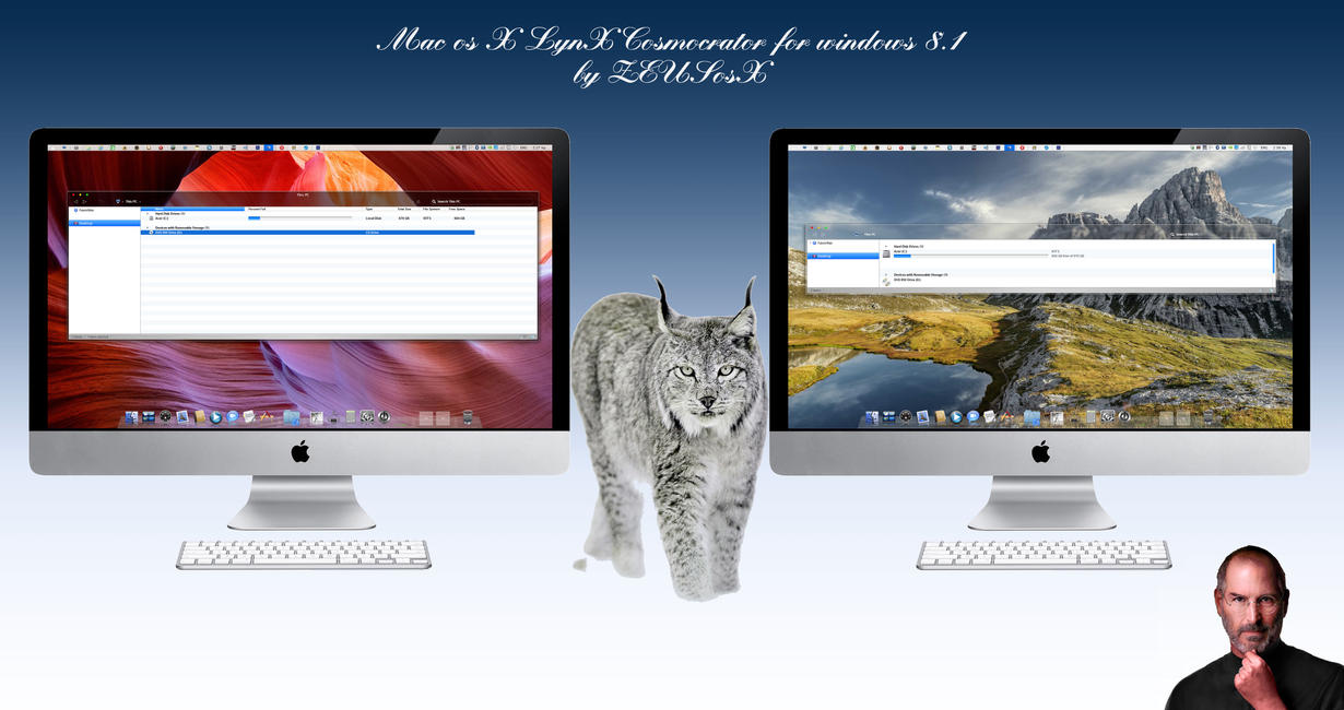 Mac os X LynX for Windows 8.1 by ZEUSosX