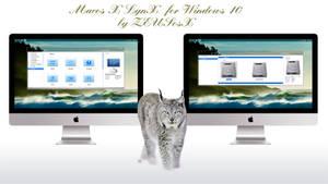 Mac os X LynX for Windows 10 rtm