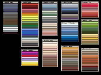 Gimp Palettes by nevit
