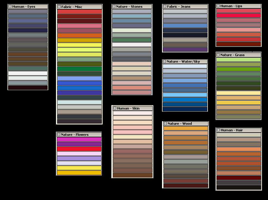 Palette for Photoshop CC
