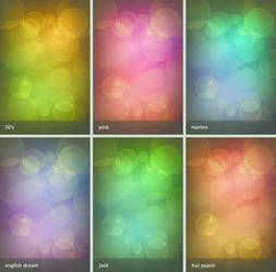 bokeh gradients by 3kiwis