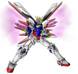 Custom Shining Gundam Request 2 by Marianne2O