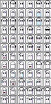 Napstablook- Emotes (72) + (30 animated!) by Kaweii