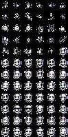 Gaster - Emotes (72) + (42 animated!)