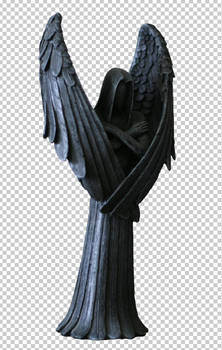 Angel statue 1 psd file