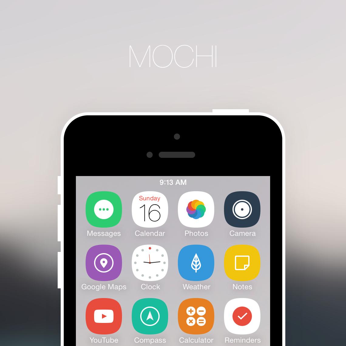 Mochi theme