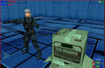 MMD MGS4 Old Snake + DL