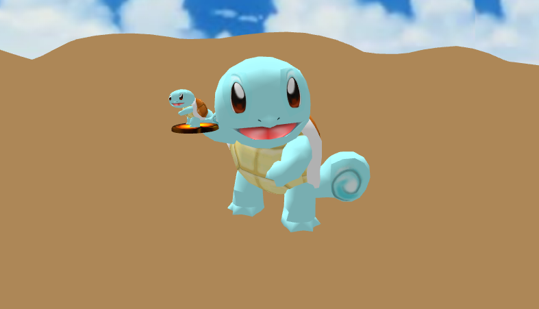 MMD Squirtle