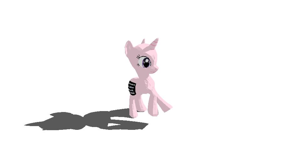 Female Unicorn Pony Base + DL