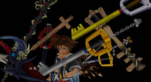 104 Keyblades + DL by Valforwing