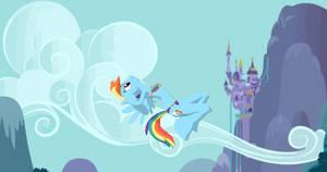 MMD Newcomer Rainbow Dash Equinoid + DL