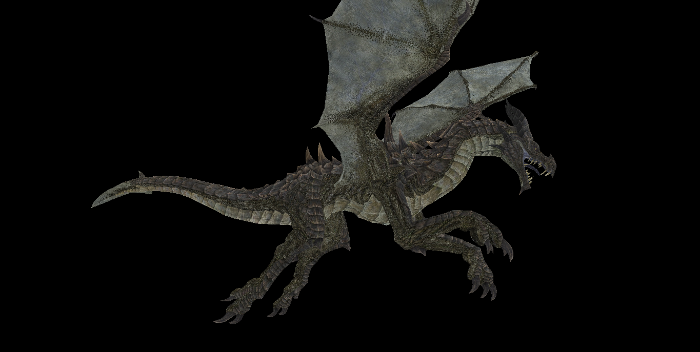 MMD Newcomer Skyrim Drake + DL by Valforwing on DeviantArt