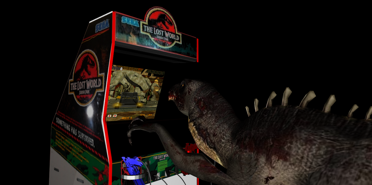 MMD Newcomer The Lost World Arcade Cabinet DL By Valforwing