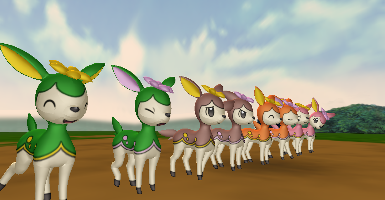MMD Newcomer Deerling All Forms + DL