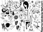 Doodle Brushes by heymonet