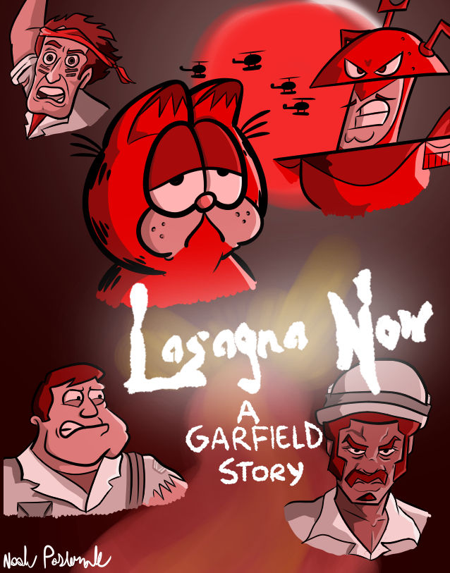 Lasagna Now A Garfield Story By Lasagnawars On Deviantart