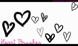 .6 - heart brushes by domino-88