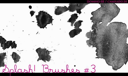 .16 - splash brushes by domino-88