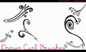 . 18 - drawn curl brushes