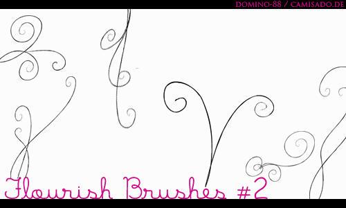 .20 - flourish brushes 2 by domino-88