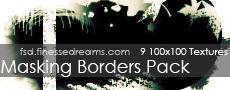 Masking Border Textures