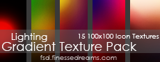 Lighting Gradient Texture Pack by Blackbird97