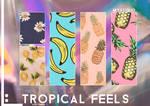 Tropical feels patterns.