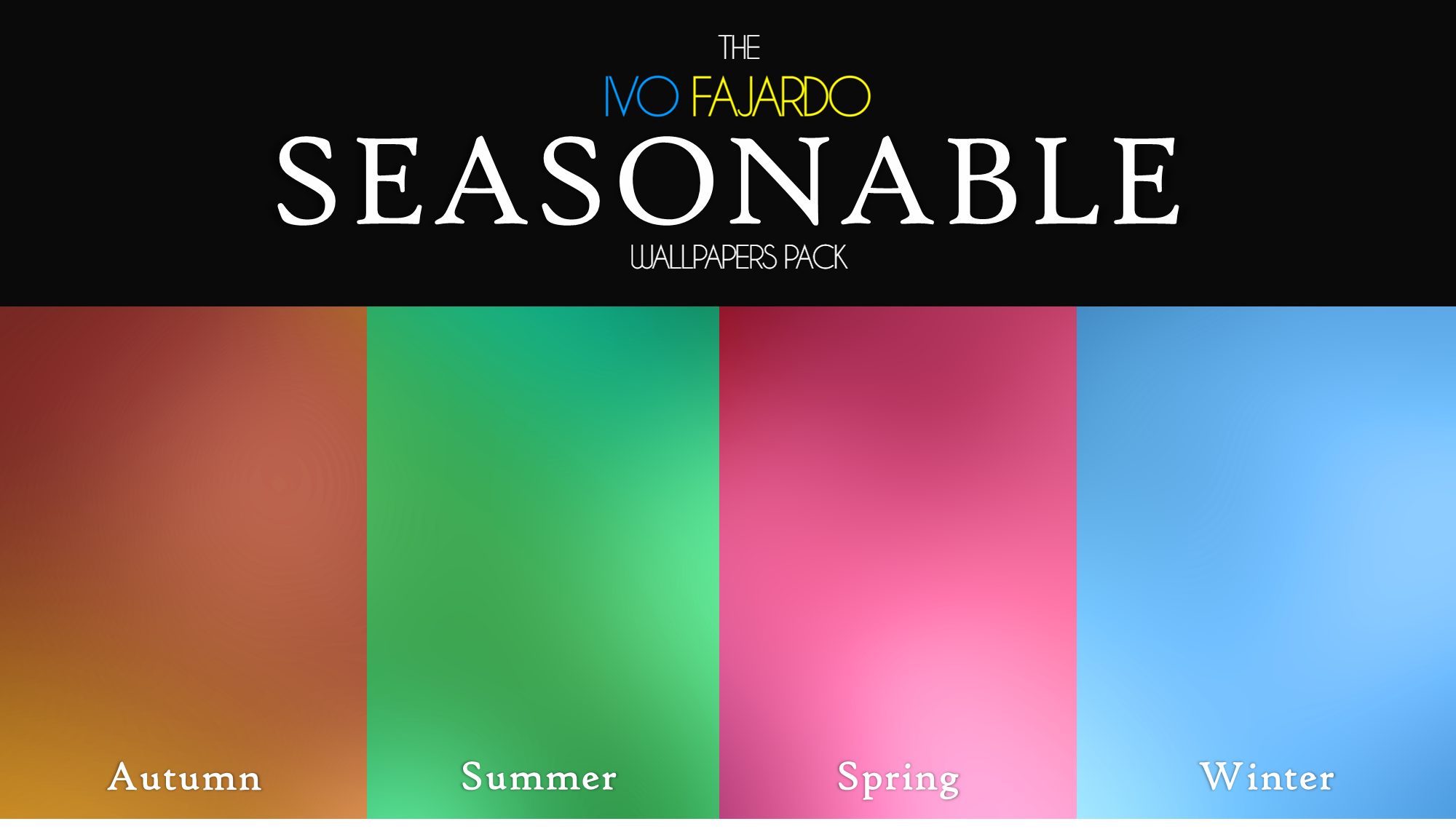 Seasonable Wallpapers Pack by IvoFajardo
