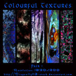 Colourful Textures Pack 1