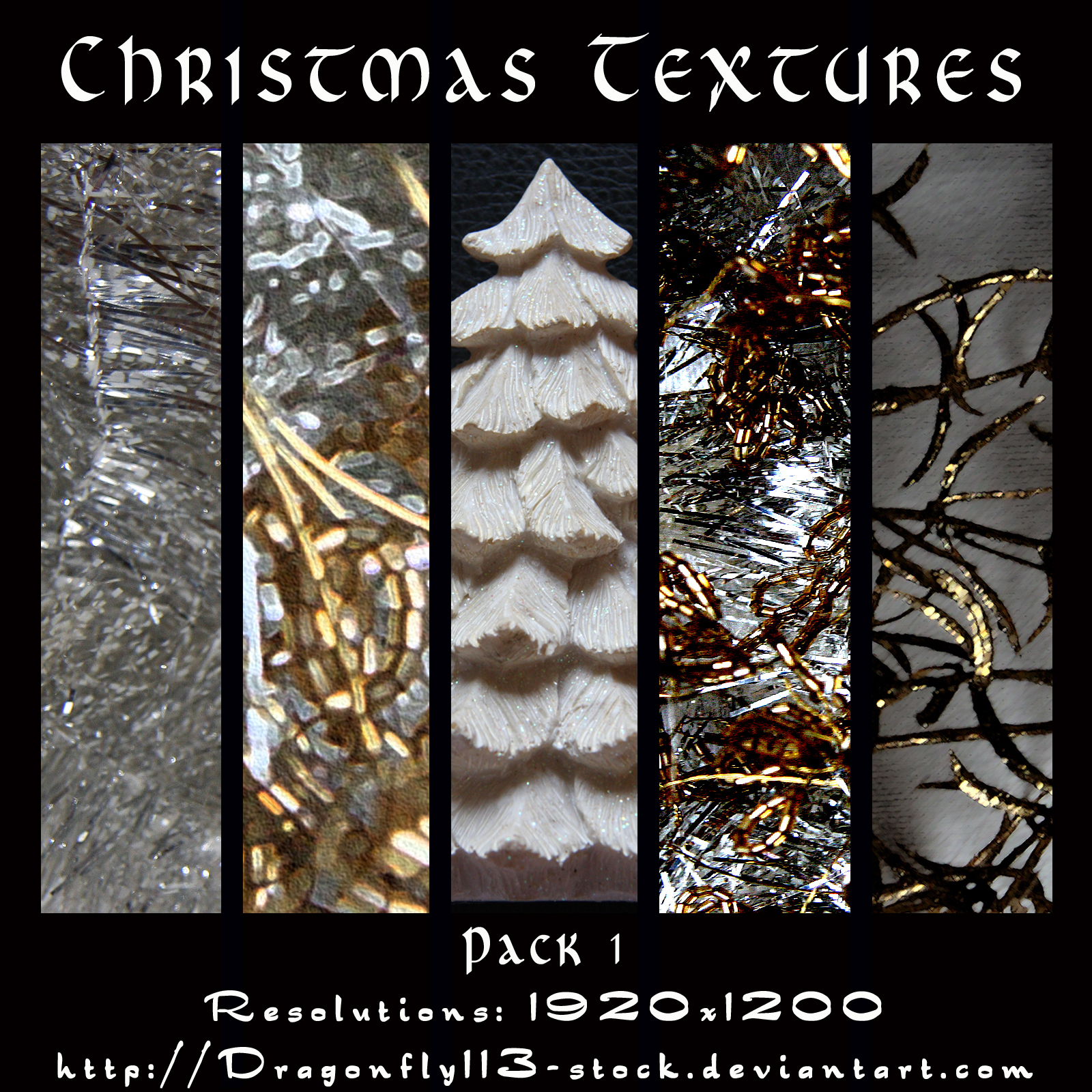 Christmas Textures Pack 1