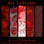 Red Textures Pack 1