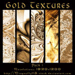 Gold Textures Pack 1