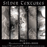 Silver Textures Pack 1 by BFstock