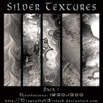 Silver Textures Pack 1