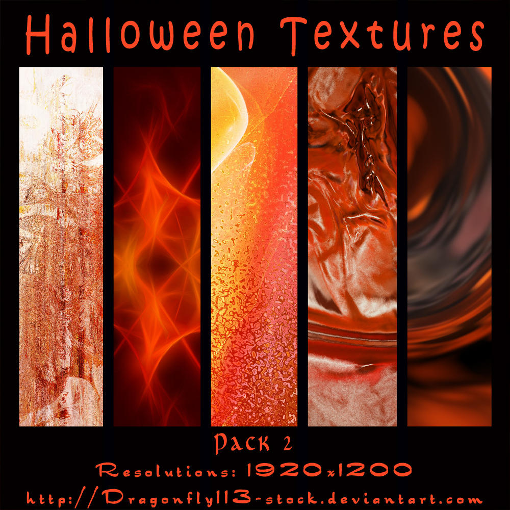 Halloween Textures Pack 2 by BFstock