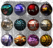 Christmas Balls Collection 3 by BFstock