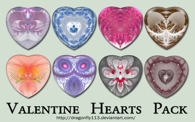 Valentine Hearts Pack 2 by BFstock