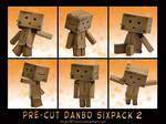 Pre-cut Danbo Sixpack 2