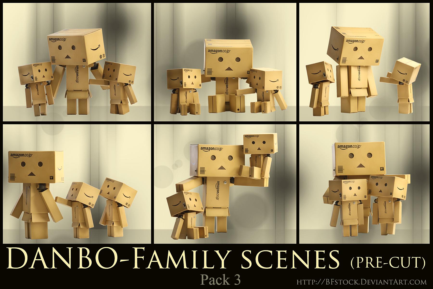 Danbo Pack 3 - Family scenes