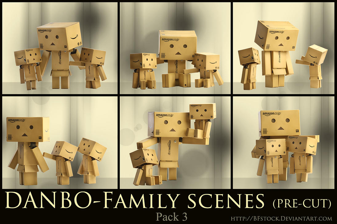 Danbo Pack 3 - Family scenes by BFstock