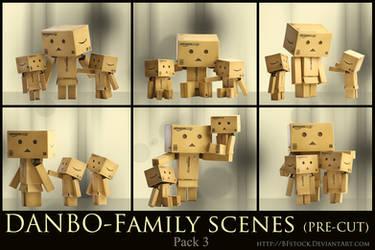 Danbo Pack 3 - Family scenes by BFstock